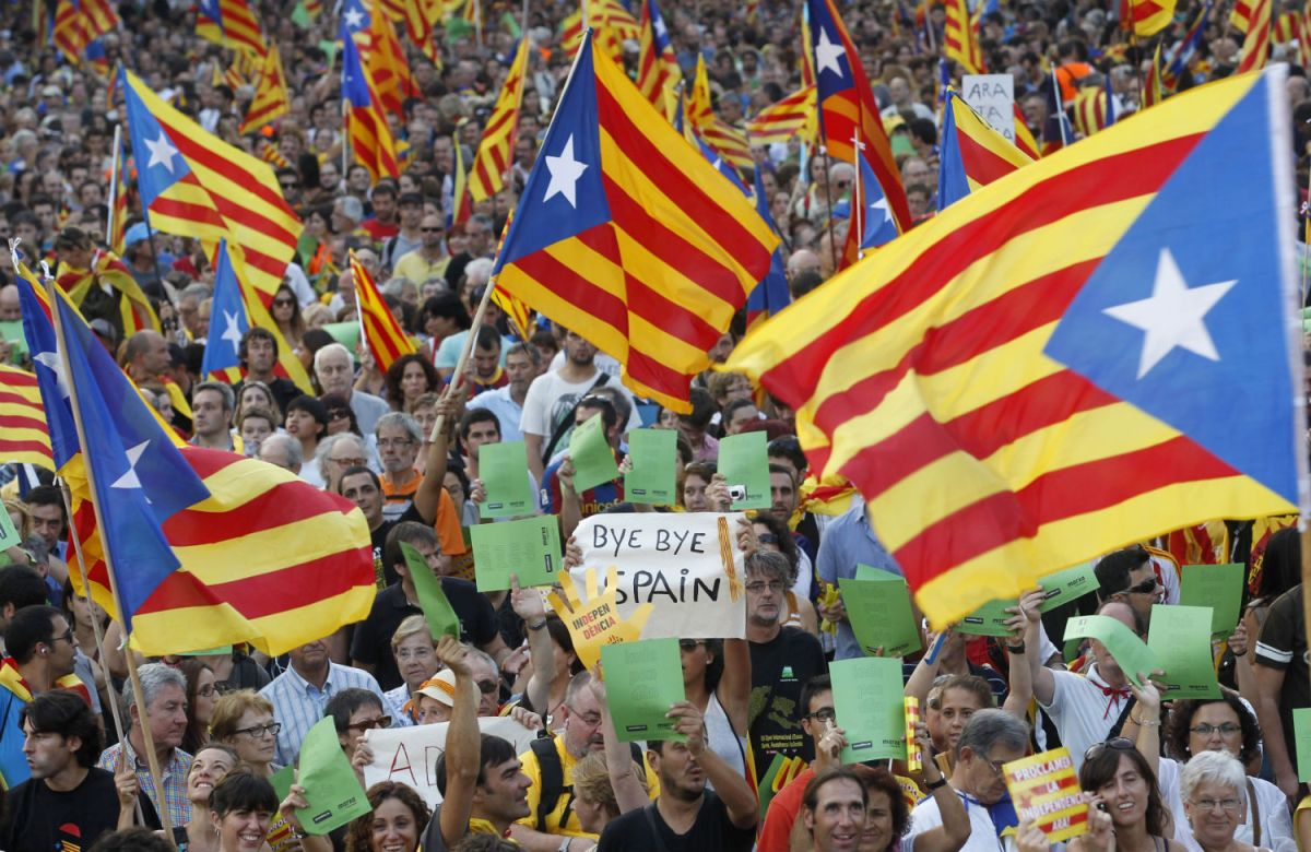 Is Spain About To Break-Up?  The Geopolitics of the New Europe