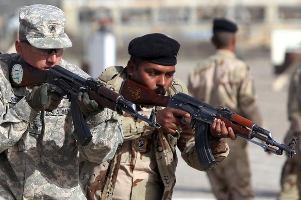 IRAQ-US-CONFLICT-TRAINING