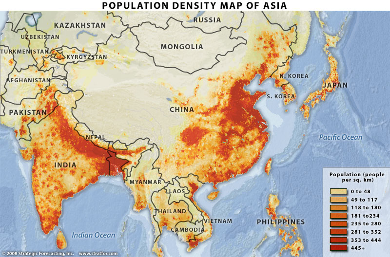 map-population-asia-china-india