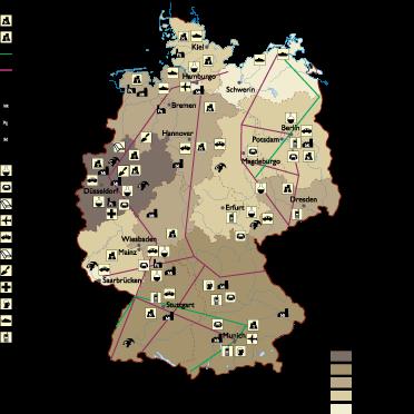 germany-economic-map