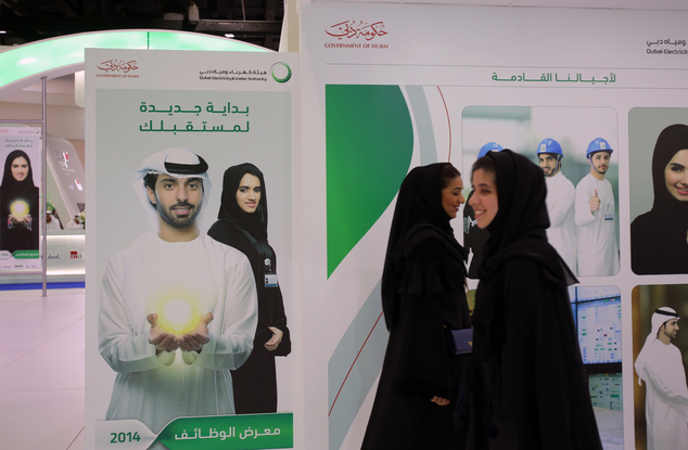Mideast Wealth Gap Emirates