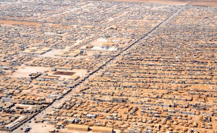 an_aerial_view_of_the_za27atri_refugee_camp