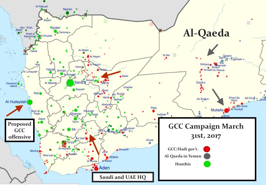 Yemeni campaign March 31st, 2017